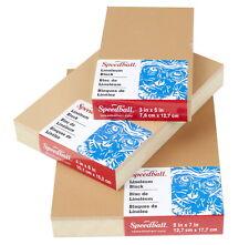 Speedball Linoleum Block, 4 x 6 Inches, Smokey Tan