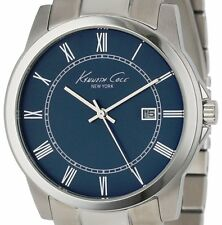PRE-OWNED $115 Kenneth Cole New York Men's Classic Midnight Blue Watch KC9212