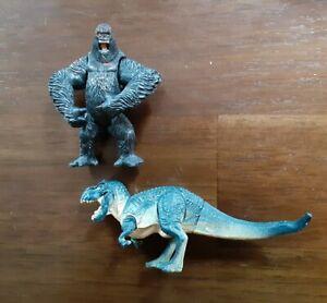 Playmates Mini King Kong and V-Rex Figures