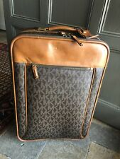 AUTHENTIC MICHAEL KORS TRAVEL TROLLEY SUITCASE ROLLER LUGGAGE CARRY-ON