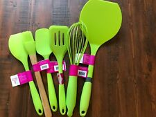 6-PIECE GIFT SET CORE Kitchen Brand Silicone Cooking Tools Set: Spatulas, Whisk