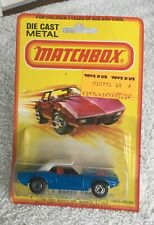 Matchbox 1, Dodge Challenger, Mint on a near-mint card, Lesney Products, England