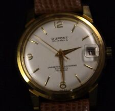 Vintage watch Dupont automatic 30 Jewels Date run fine