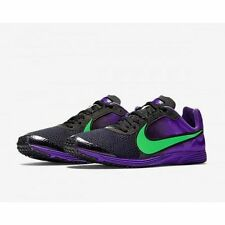 NEW inbox Nike zoom Streak LT2 racing flats running shoes men's 10 black/purple