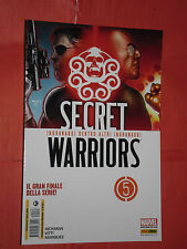 SECRET WARRIORS-N° 5-MARVEL MIX - PANINI-CAPITAN AMERICA NICK FURY NUOVO RARO