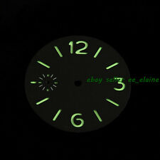 Parnis 36.3mm Luminous Watch Dial Fit Unitas ETA 6497 Seagull Hand Winding Watch