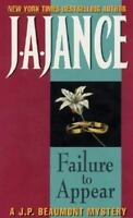 Failure to Appear by Jance, J.A.