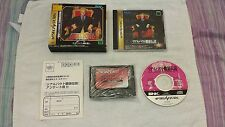 FATAL FURY REAL BOUT + RAM, SEGA SATURN, JAP/IMPORT/JP
