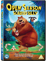 Open Season: Scared Silly DVD (2016) David Feiss cert PG ***NEW*** Amazing Value