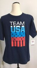 USA Team Apparel Olympic Crew Neck Tee Shirt T-Shirt Size Youth XL-18  NWT