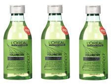 ★★★ 3x L'OREAL Paris PROFESSIONNEL Volumetry Shampoo Anti- Schwerkraft 250ml ★★★