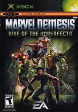 MARVEL NEMESIS: RISE OF THE IMPERFECTS ( JEUX MICROSOFT XBOX ) COMPLET / CIB