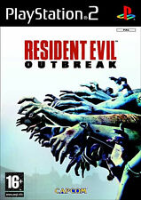 Sony PlayStation 2 Ps2 Resident Evil Outbreak Platinum Capcom Video Game