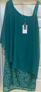 Womens Sheego Green Dress - UK Size 22