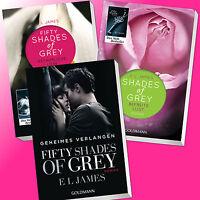 im Set: SHADES OF GREY 1-3 | Band 1 (TB) + 2 + 3 | E. L. JAMES | Fifty (Buch)
