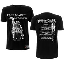 Rage Against The Machine Bola Album Cover Tracks Rock T-Shirt Adult Xl Tee