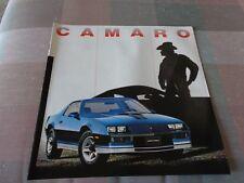 NOS 1982 CHEVROLET CAMARO & CAMARO Z28 DEALER SALES BROCHURE UNCIRCULATED MANUAL