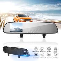 2.4'' HD Car DVR Rear View Mirror Camera Dash Cam Video Recorder Night Vision
