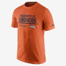 Nike NEW Mens Property of Denver Broncos Fashion TShirt 789006 Large L $28