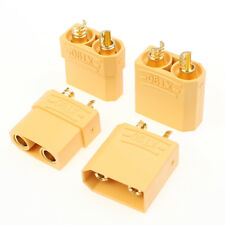 10 Pairs Male + Female XT90 Banana Bullet Connector Plug For RC Model Battery US