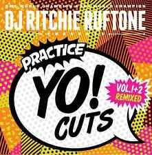 """DJ RITCHIE RUFTONE Practice Yo Cuts Vinyl 7"""" White Raiden Fader PT-01 Handytrax"""