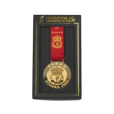 LIVERPOOL FC OFFICIAL 2005 ISTANBUL CHAMPIONS OF EUROPE MEDAL BNWT UNBELIVERPOOL
