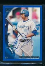 2010 Topps NUMBERED #3 Destin Hood Lake Monsters Signed Autograph (OO6) SWSW
