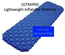 Lightweight Inflatable Backpacking Camping Mattress - ULTRAPAD - Just 450 grams!