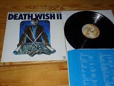 DEATH WISH II - SOUNDTRACK (JIMMY PAGE) / GERMANY-VINYL-LP 1982 (MINT-) & INLET