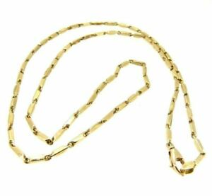 Collier Vintage Years' 70 IN Yellow Gold Solid 9 Carats Necklace Choker