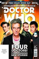 NEW MINT Doctor Who Four Doctor Special 2016 FCBD UNSTAMPED Free Comic Book Day