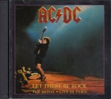 AC/DC Let There Be Rock The Movie Live In Paris 2CD RARE FASTPOST