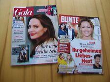 Bunte + Gala - 2 Zeitschriften - Ausgabe Nr. 8 + 7/ 2021