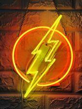 "New Flash Thunder Wall Decor Artwork Neon Light Sign 13"" x 9"""