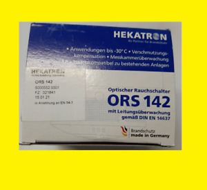 ORS142 Hekatron Rauchmelder Fachhändler + Rechnung Garantie NEU OVP> 2021 Aktion