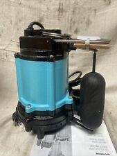 Little Giant 10ec Cia Sfs Submersible Sump Pump 12 Hp Cast Iron 115v Ac
