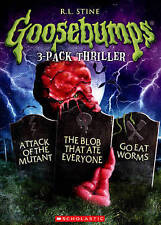 GOOSEBUMPS/ATTACK OF THE MUTANT,BLOB THAT ATE EVERYONE/GO EAT WORMS (DVD) NEW
