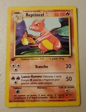 Pokemon French Charmeleon Reptincel 24/102 1st Edition Moderate Play