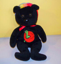 "Celebrity Bears~9"" Halloween Black Bear~Bean Bag Plush Stuffed Animal"