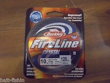 Berkley FireLine Crystal 10 lb 125 yards crystal NIB