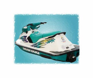SEAT COVER and STRAP 93-99 SeaDoo XP SP SPX SPi Any Single Color