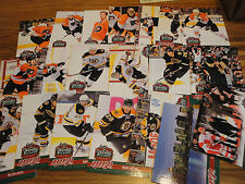 2010 MVP WINTER CLASSIC HOCKEY SET BRUINS VS FLYERS 20 IN THE SET