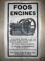 "218 VINTAGE REPRINT ADVERT CUSHMAN GASOLINE ENGINE 11/""x17/"""