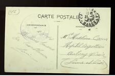 1918 Morocco Stampless Navy Aviation RPPC Real Picture Postcard Cover