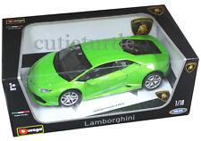 Bburago Lamborghini Huracan LP610-4 1:18 Diecast Model Car 18-11038 Green