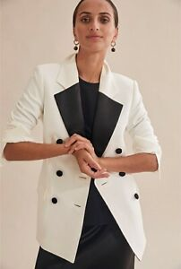 Country Road - Contrast Tax Blazer - Size 8 - Brand new without tag-Free Postage