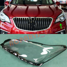 Left Side Headlight Cover Transparent PC With Glue For Buick Envision 2016~2017