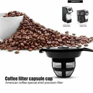 Household Reusable Coffee Capsules Pod For Hamilton Beach FlexBrew 49979/2 Way