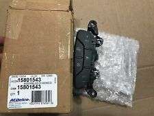 NEW, GENUINE OEM - AC Delco GM 15801543 Cruise Control Switch for Steering Wheel