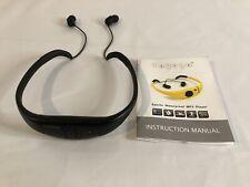 TAYOGO WATERPROOF SPORTS HEADPHONES / 8gb MP3 PLAYER (BLACK)